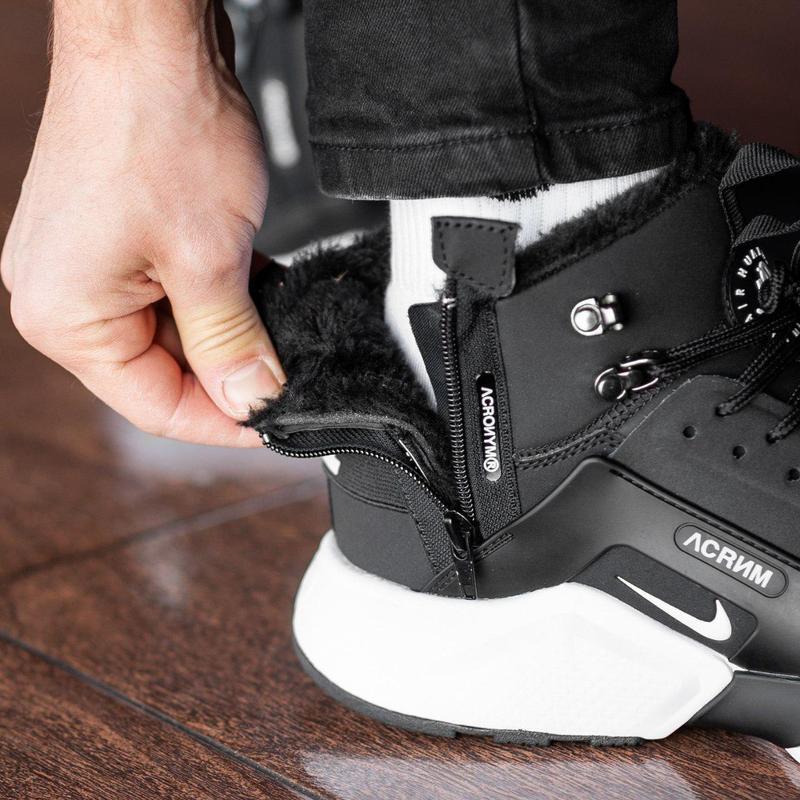 Шикарные мужские зимние кроссовки / ботинки ❣️ nike air huarac... - Фото 5