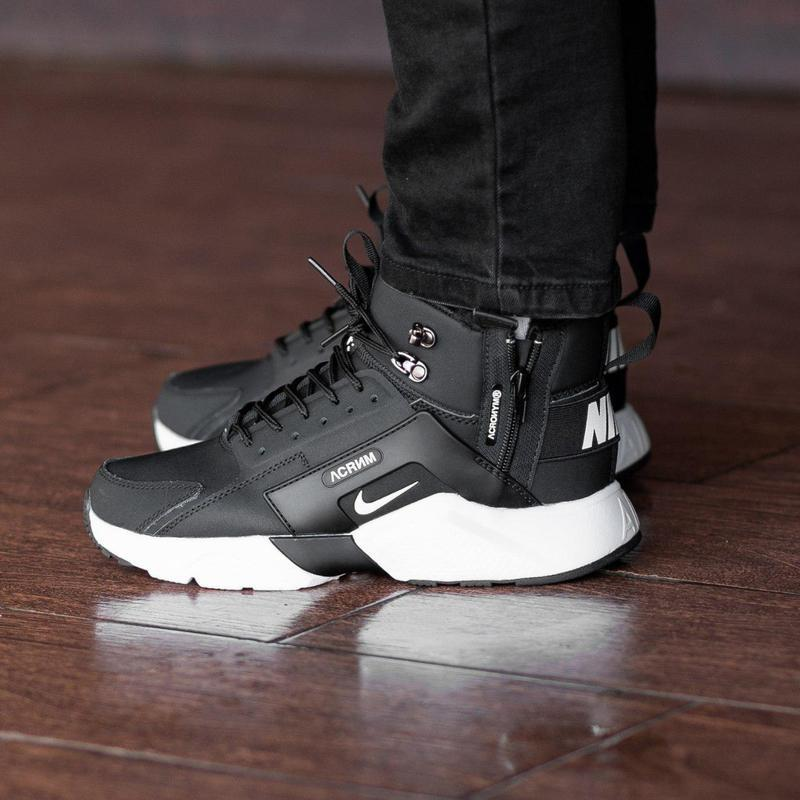 Шикарные мужские зимние кроссовки / ботинки ❣️ nike air huarac... - Фото 6