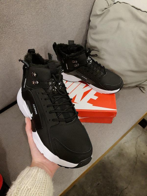 Шикарные мужские зимние кроссовки / ботинки ❣️ nike air huarac... - Фото 8