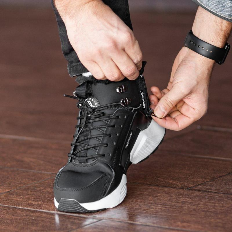 Шикарные мужские зимние кроссовки / ботинки ❣️ nike air huarac... - Фото 9