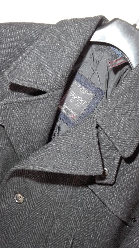 Мужское пальто esprit xxl - Фото 8