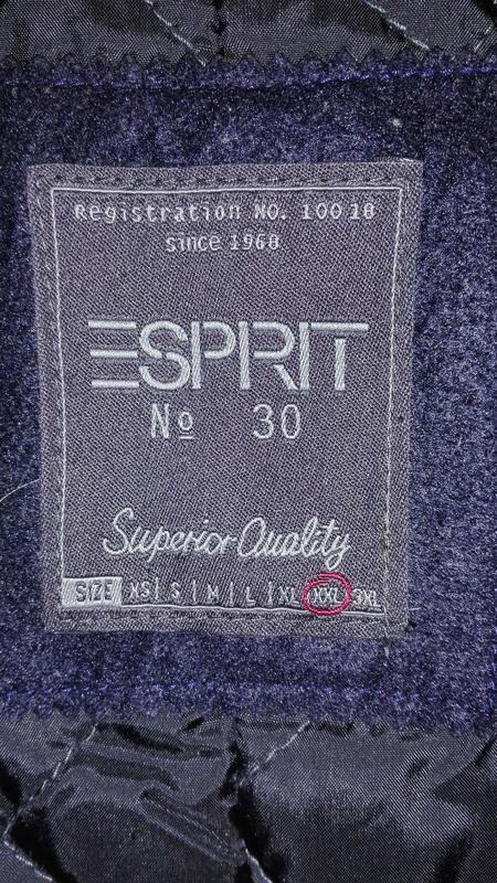 Мужское пальто esprit xxl - Фото 10