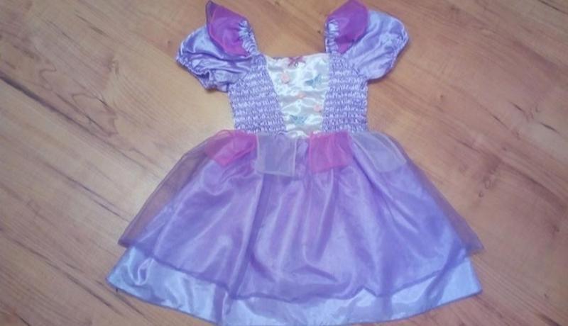 Карнавальное платье для маленькой принцессы на 2-3 годика