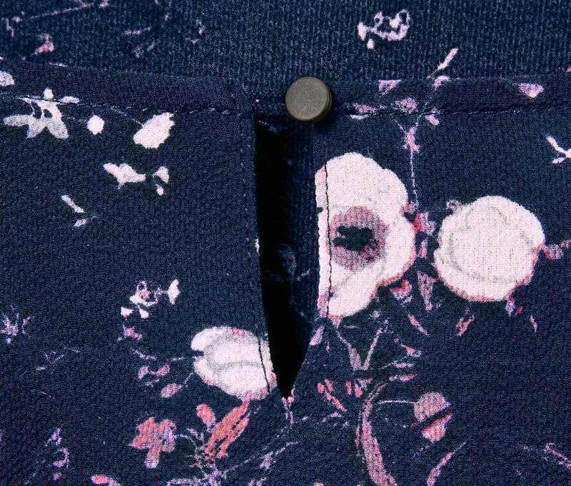 Цветочная блуза свободного кроя р.евро 36 38 s от tchibo германия - Фото 5