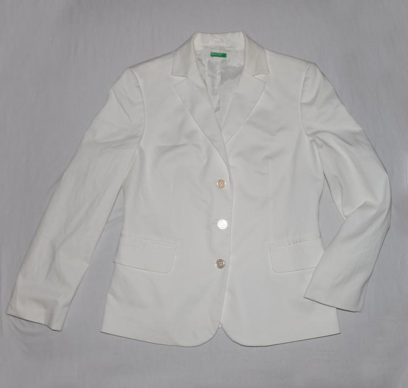 Белый пиджак - Фото 3