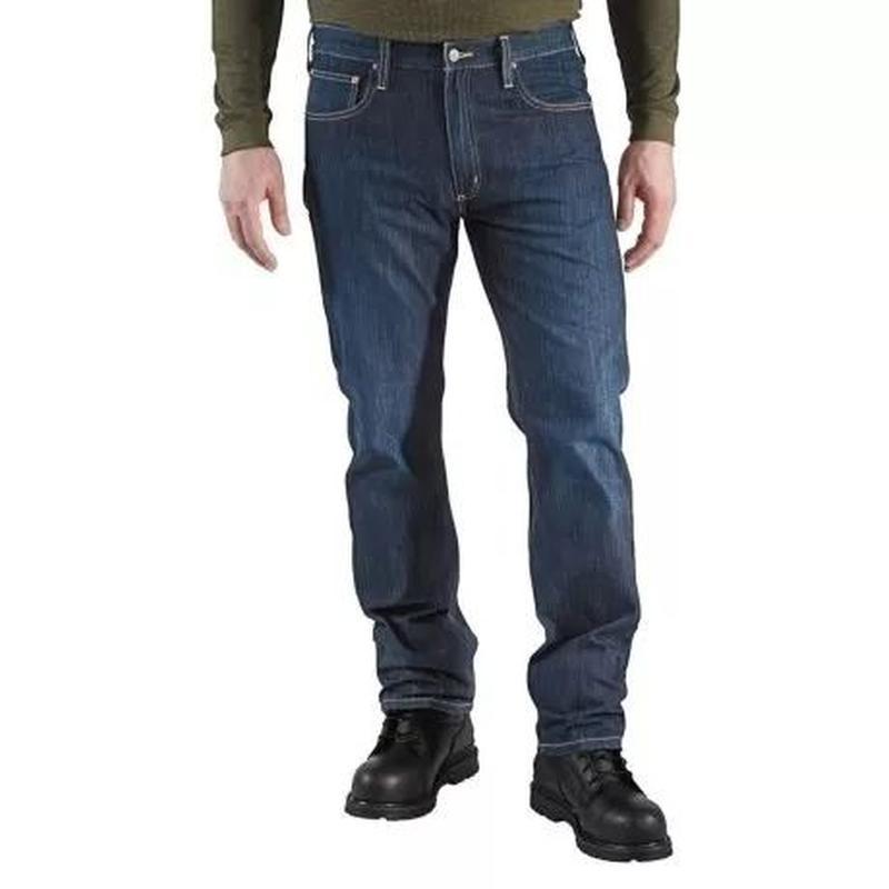 Джинсы мужские carhartt b315 straight-fit denim jeans оригинал...