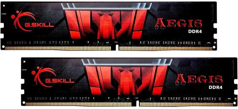 ОЗУ G.Skill DDR4 16GB (2x8GB) 3000Mhz Aegis (F4-3000C16D-16GISB)