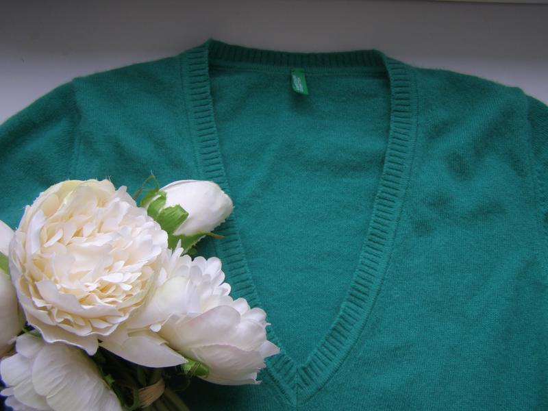 Benetton джемпер шерстьs-m-размер - Фото 8