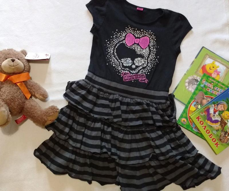 Платье - smock monster high , 9-10 лет, 140 см