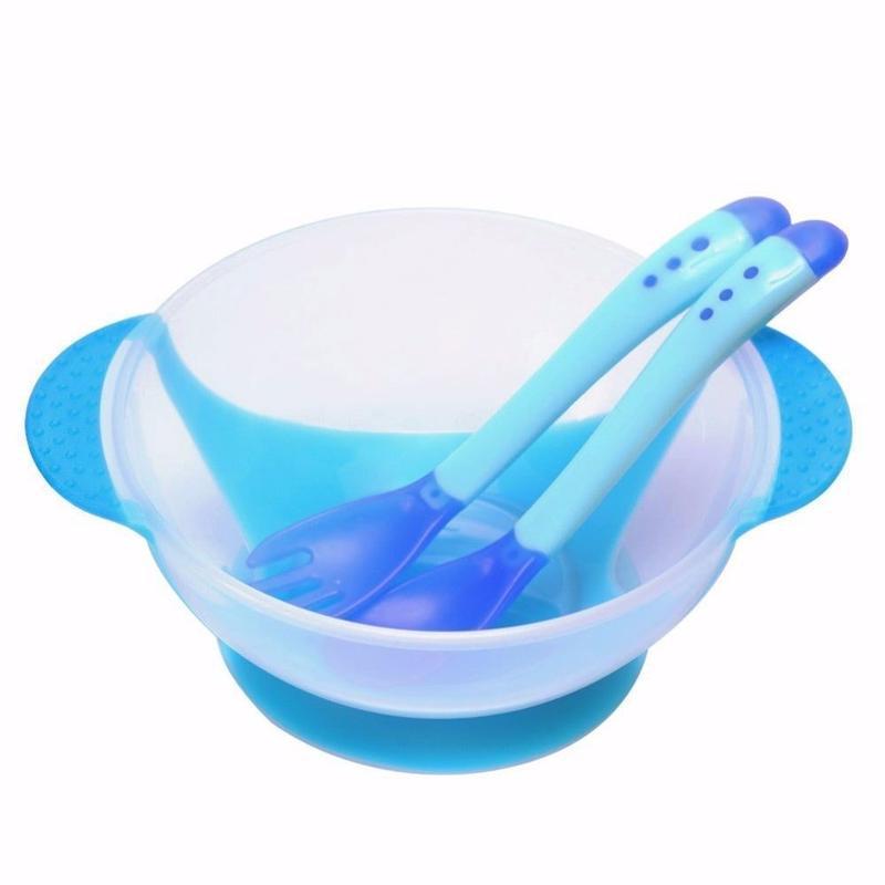 12-43/1 набор детской посуды детская тарелка на присоске и тер...