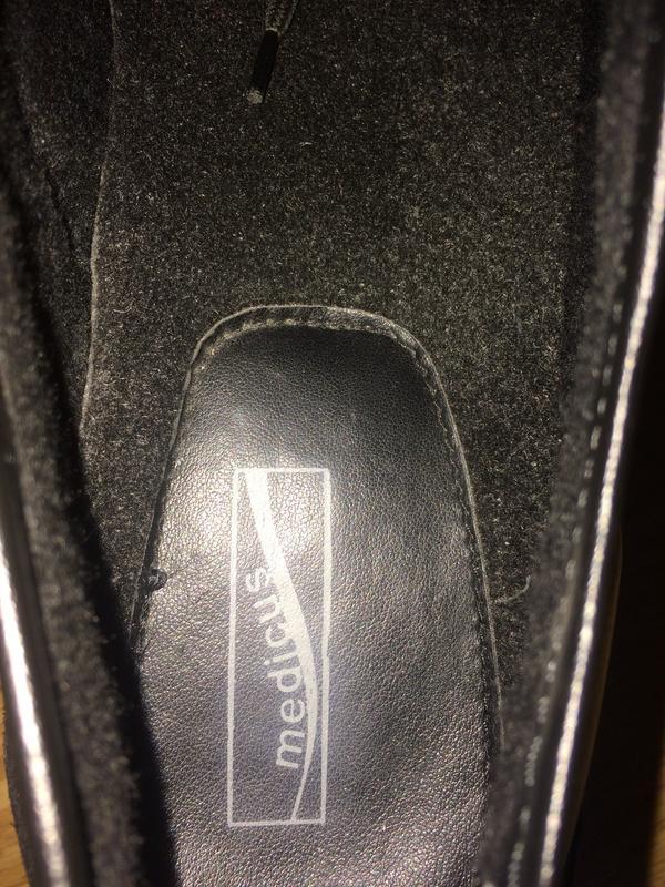 Кожаные ботинки medicus германия 40 размера в отличном состоянии - Фото 6