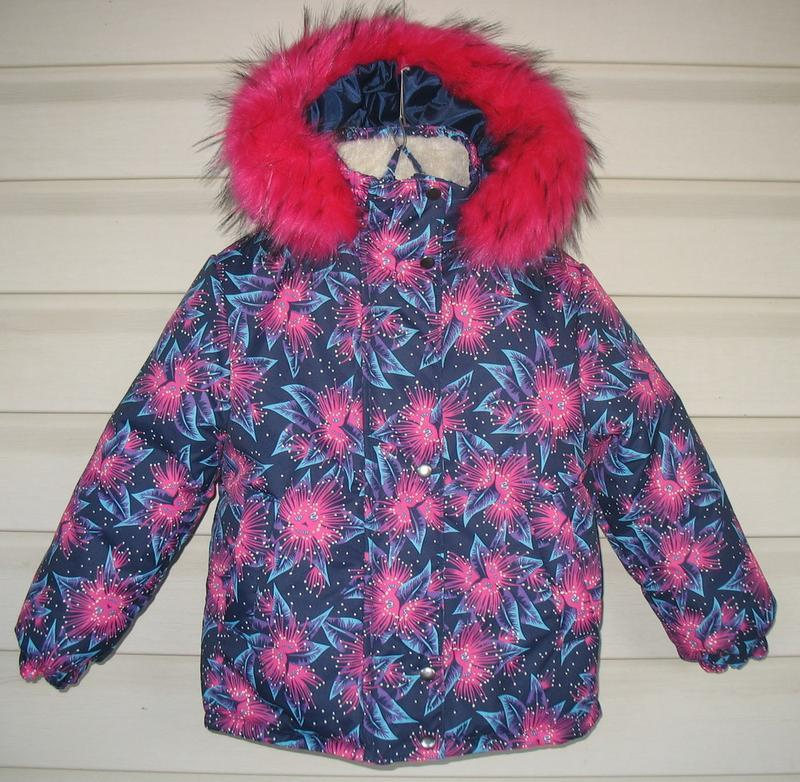 Зимняя курточка для девочки - Фото 5