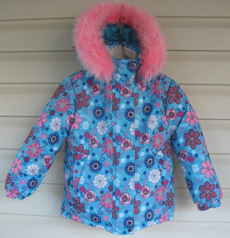 Зимняя курточка для девочки - Фото 6