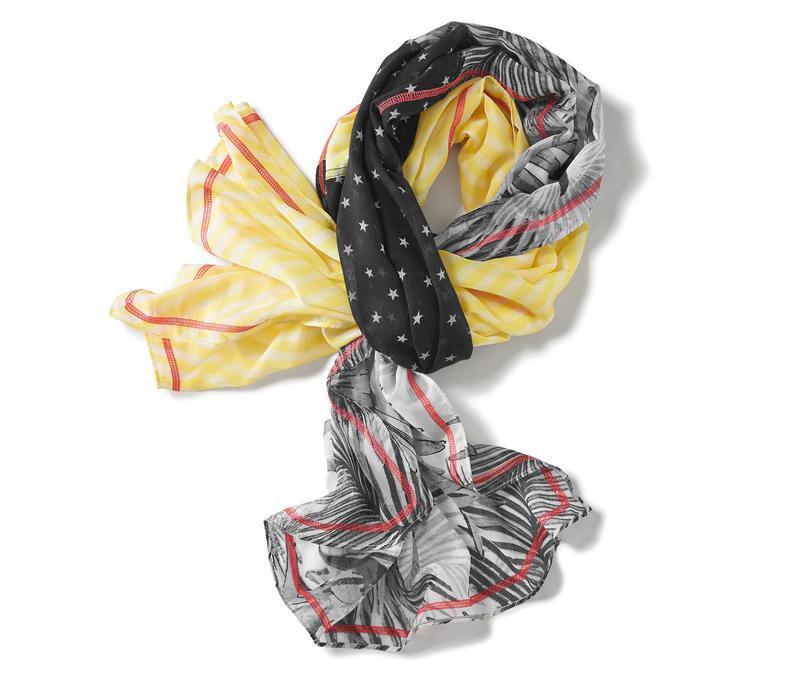 Легкий воздушный шарф tcm tchibo германия