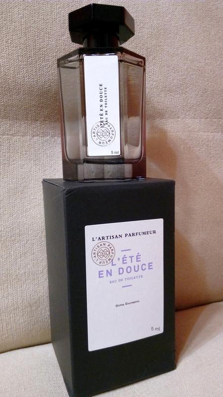 L`artisan parfumeur _l`ete en douce_original mini 5 мл_миниатю... - Фото 2