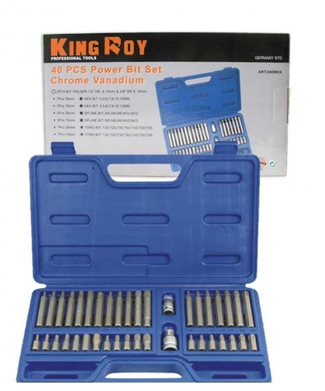 Набор инструментов King Roy 040-MDA (40 предметов)