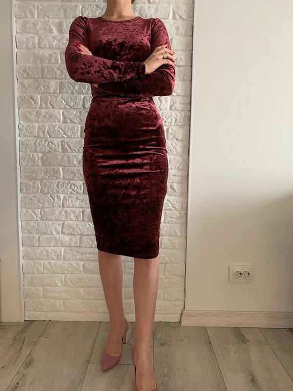 Шикарное платье бархатное от michael kors новый год нарядное