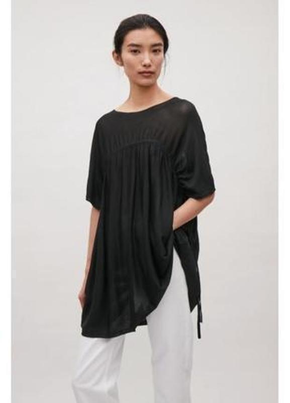 Cos блуза блузка туника топ оверсайз