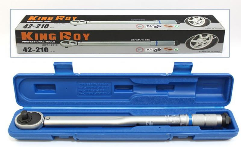 Ключ динамометрический King Roy KRT42210  (42-210 nm.)
