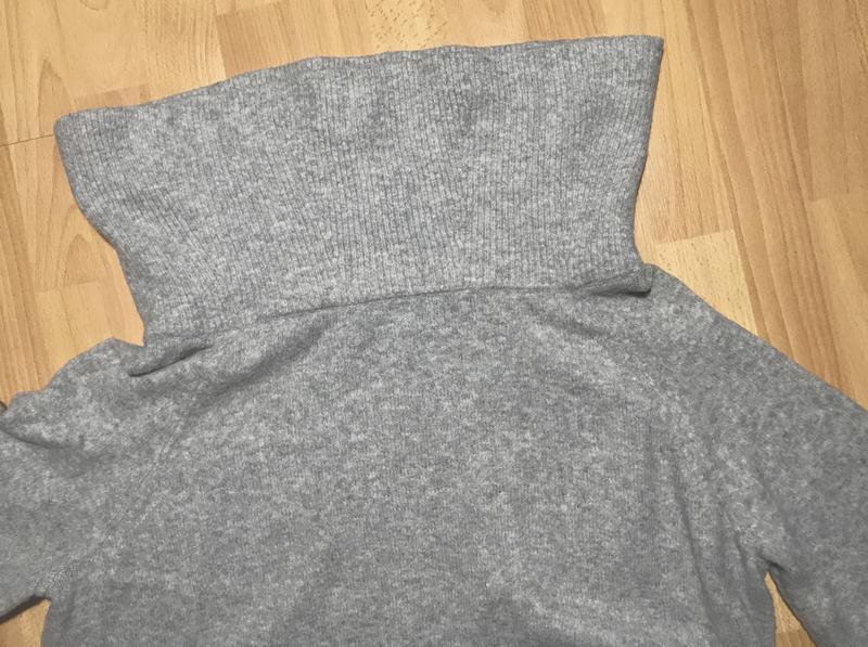 В наличии - тёплый свитер с шерстью на плечи *h&m* р. l - Фото 6