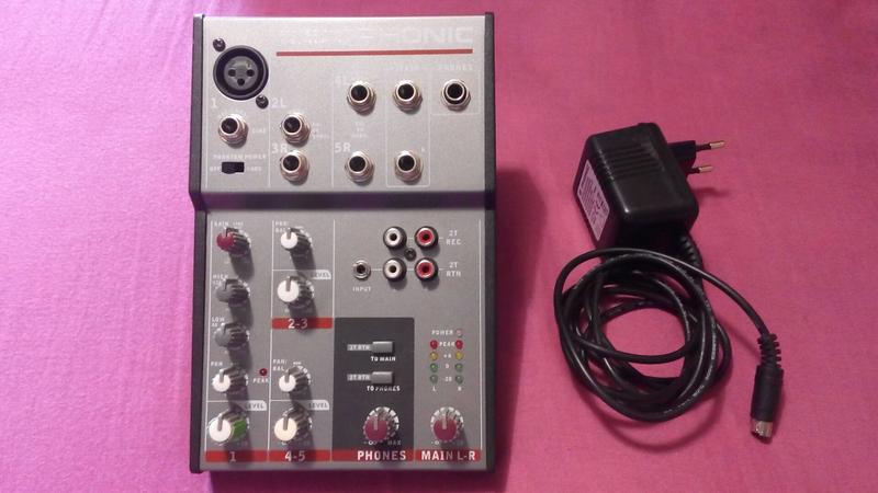 Микшерный пульт  Phonic AM120 MKIII /  Мікшерний