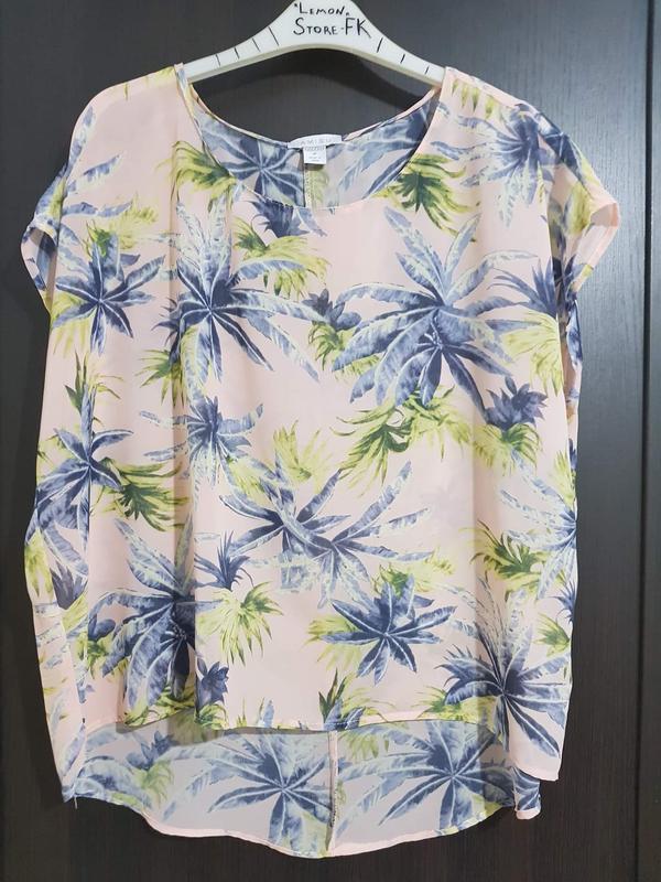 """Футболка блуза """"пальмы"""" - Фото 2"""