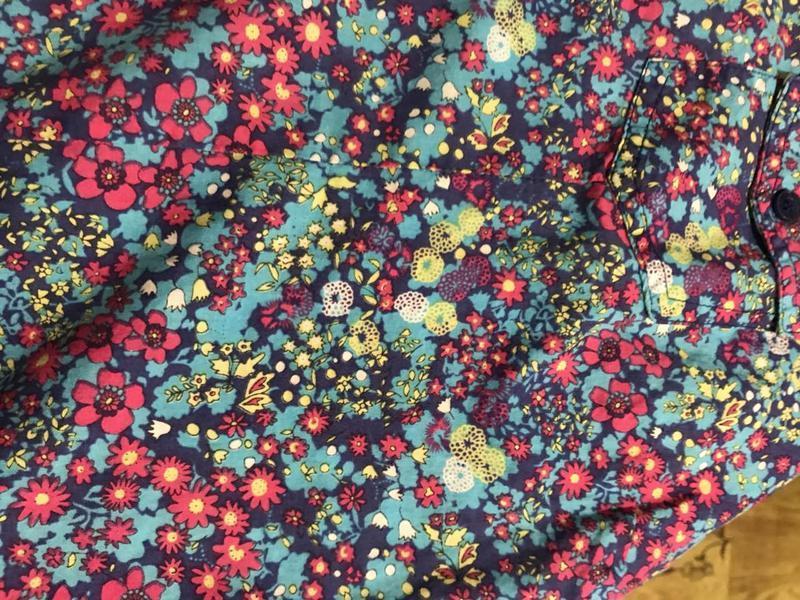 """Рубашка """"яркая,цветы"""" - Фото 2"""