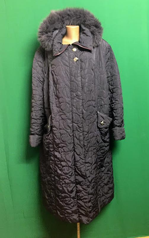 Длинное пальто еврозима с капюшоном exclusive