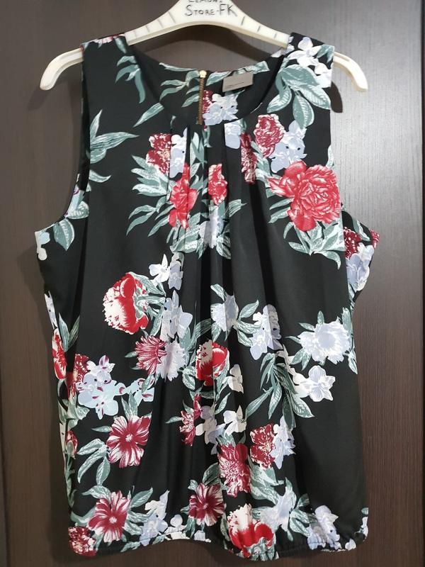 """Майка блуза """"яркие цветы"""""""