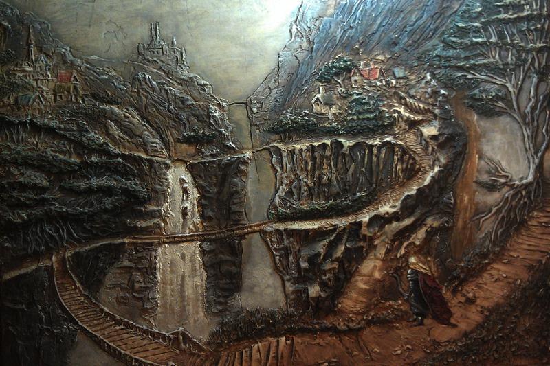 Художественная лепка,рельефная роспись стен - Фото 2