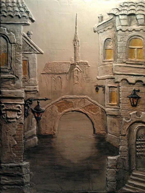 Художественная лепка,рельефная роспись стен - Фото 5