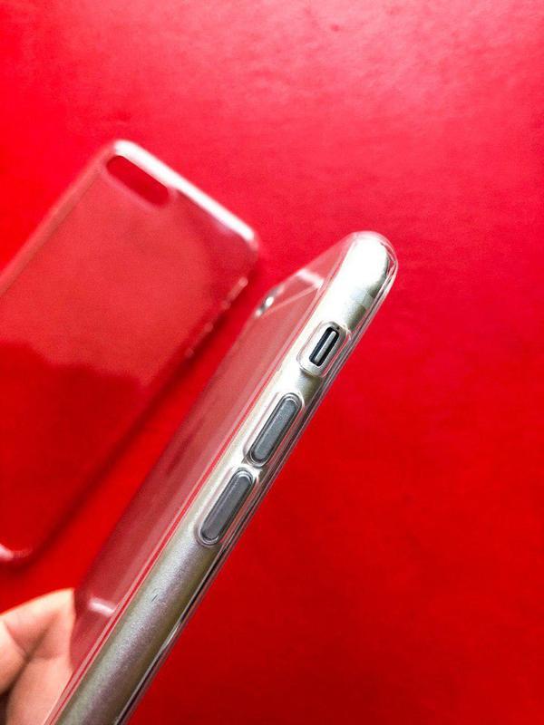 Прозрачный силиконовый чехол IPhone
