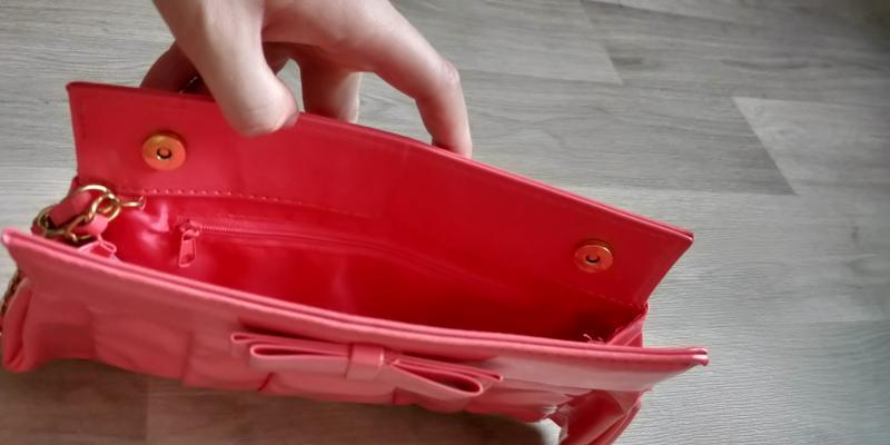 !продам женский яркий красивый лаковый клатч сумку - Фото 6