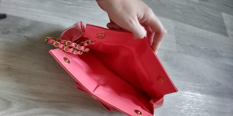 !продам женский яркий красивый лаковый клатч сумку - Фото 9