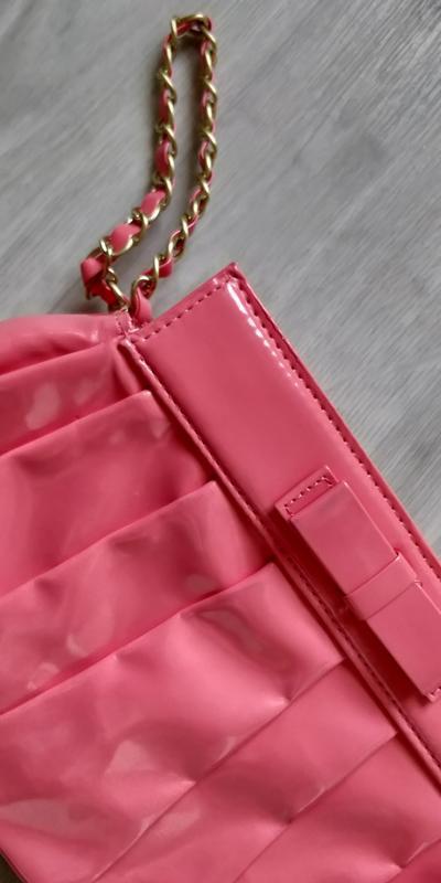 !продам женский яркий красивый лаковый клатч сумку - Фото 10
