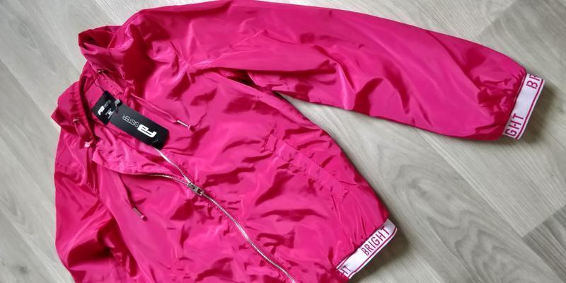 !продам новую женскую спортивную лёгкую куртку ветровку с капю... - Фото 10