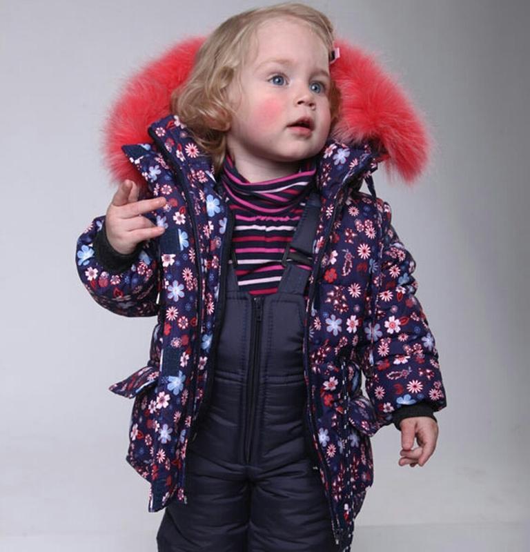 Качественный зимний костюм, комбинезон теплый для девочки 1,2,...