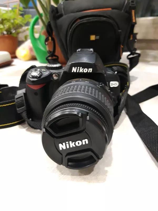 Фотоаппарат Nikon D40X
