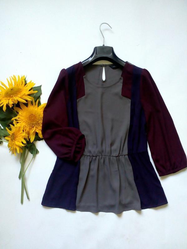 Красивая легкая блуза - рукава три четверти 10