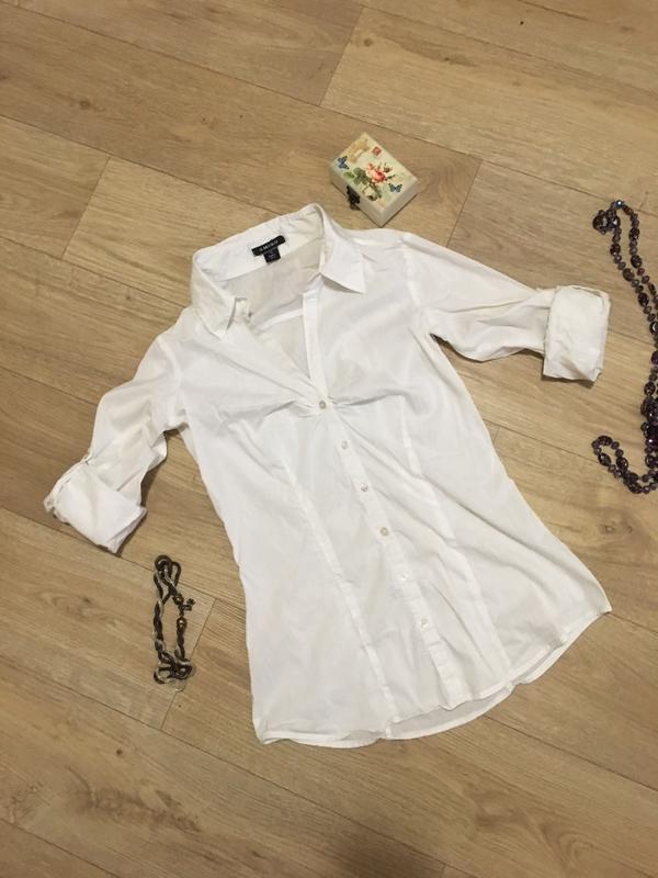 Белая рубашка amisu