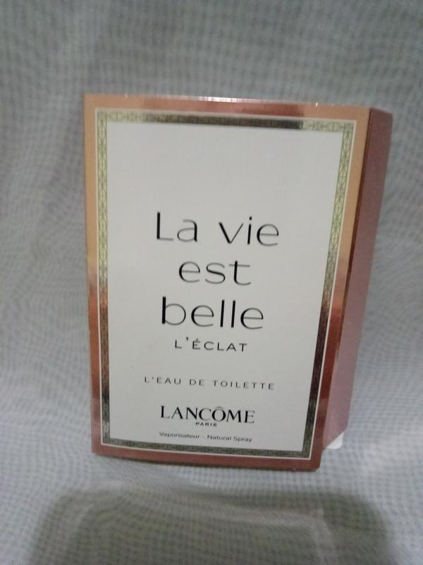 La vie est belle l'eclat женская туалетная вода 1.2мл