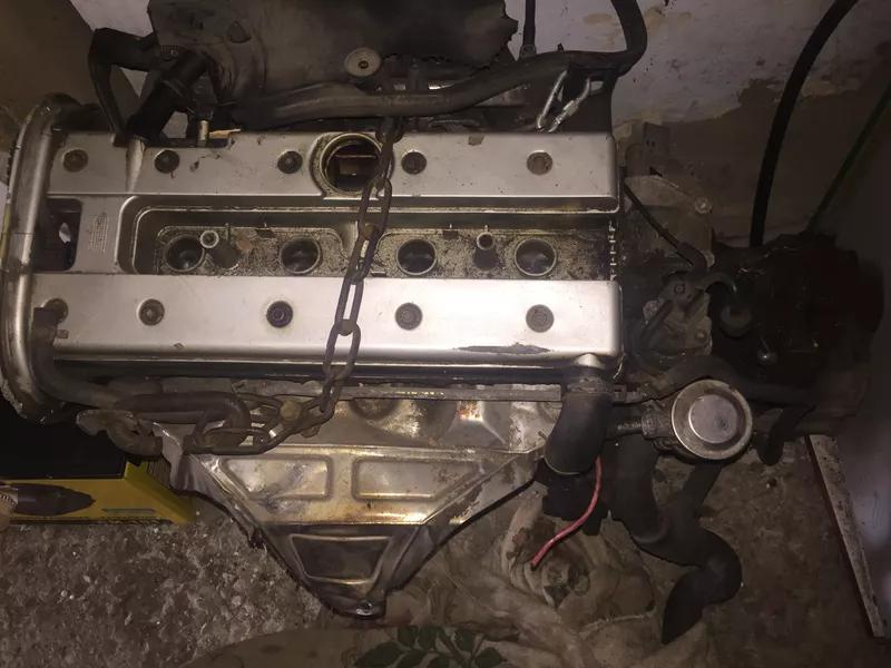 Двигатель коробка салон Опель вектра б 1998 года
