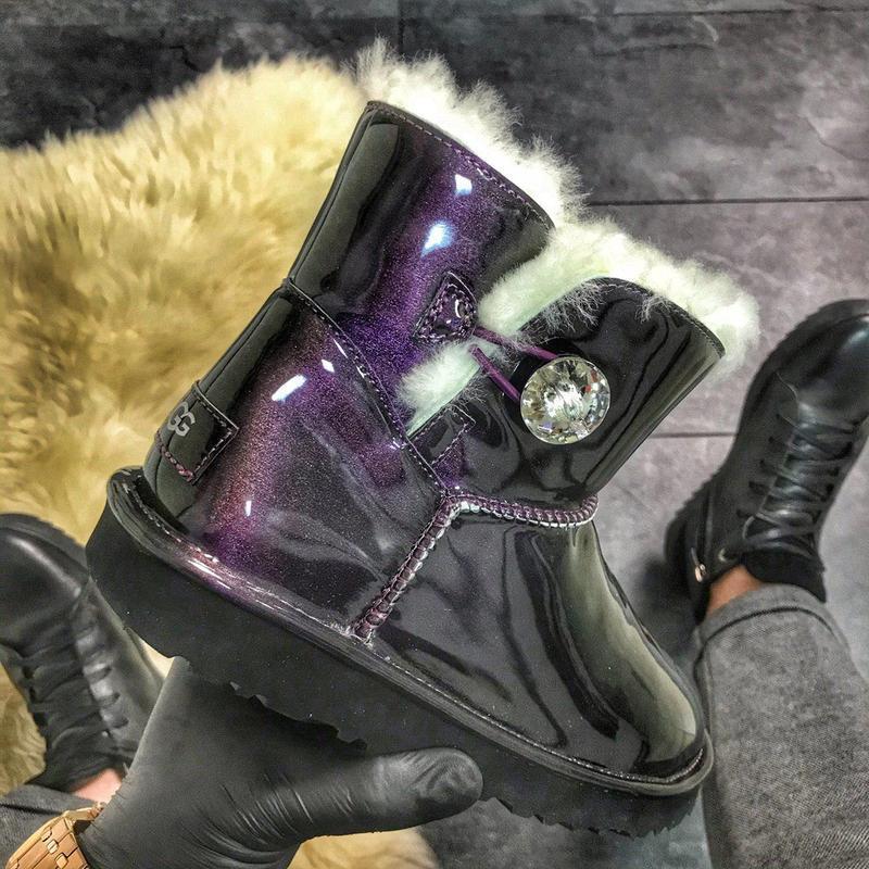 Угги женские ugg classic mini violet  (зима)