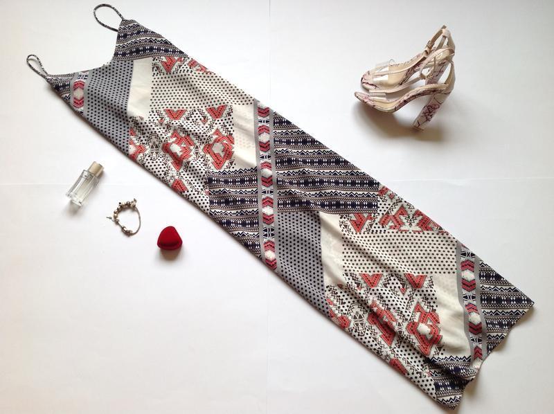 Летнее платье сарафан next