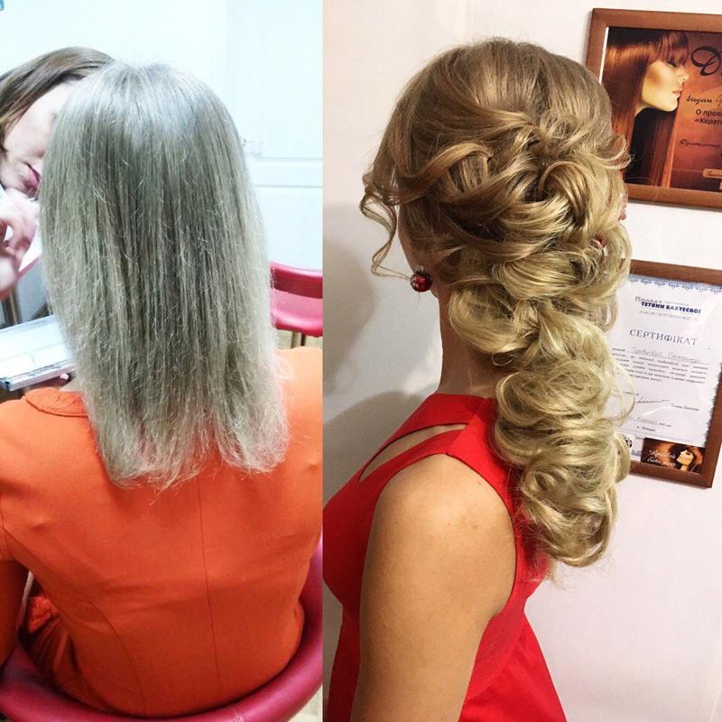 Свадебные, вечерние прически. Кератиновое восстановление волос. - Фото 4