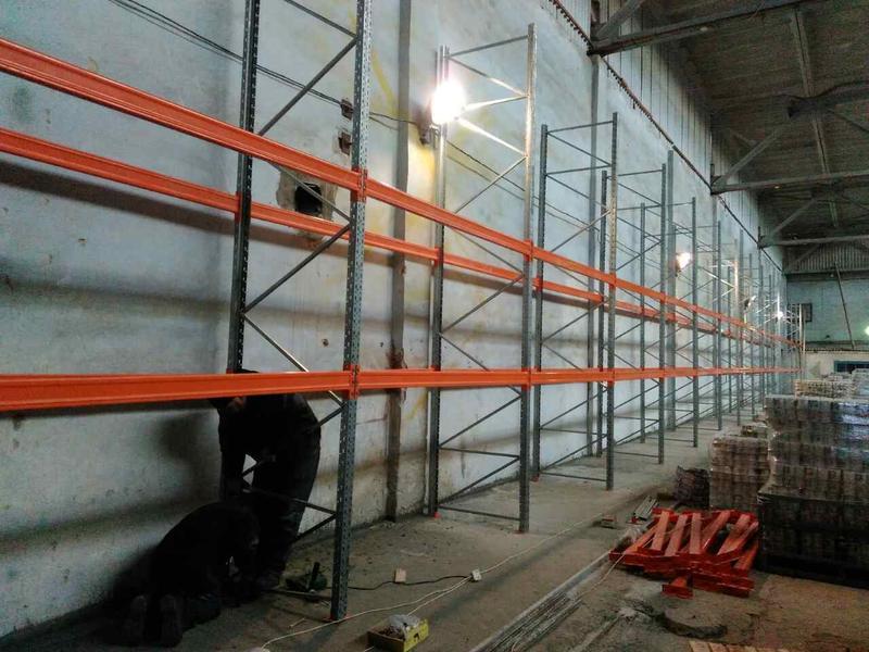 Монтаж и установка металлических складских стеллажей - Фото 2