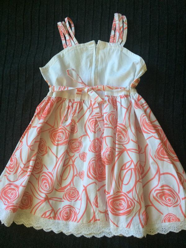 Дуже гарне плаття на 3-4 р. - Фото 3