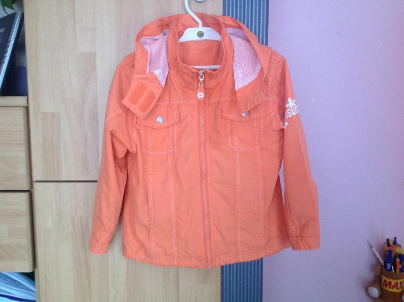 Куртка ветровка pocopiano 116 р.
