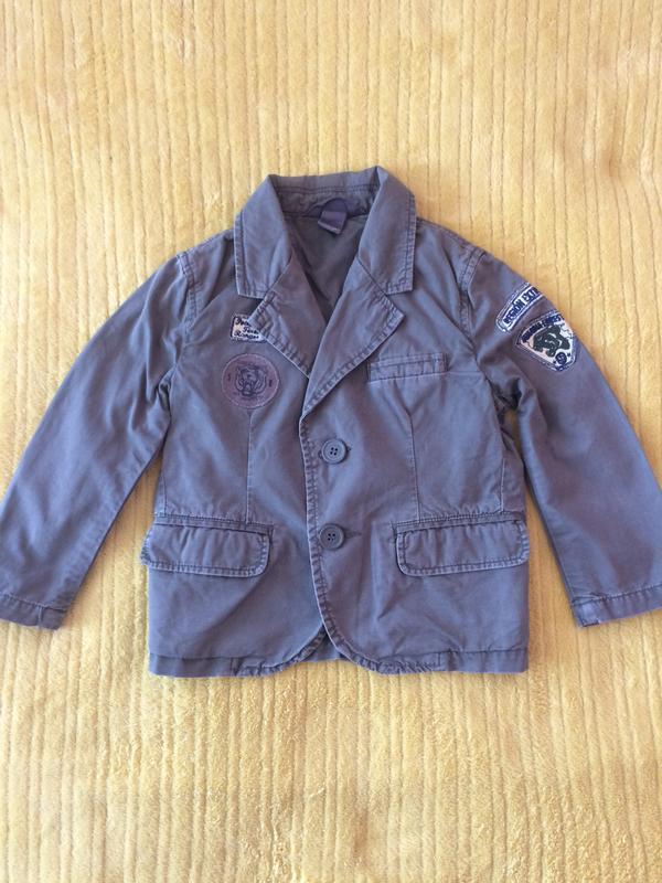 Фирменная куртка пиджак 92 см.