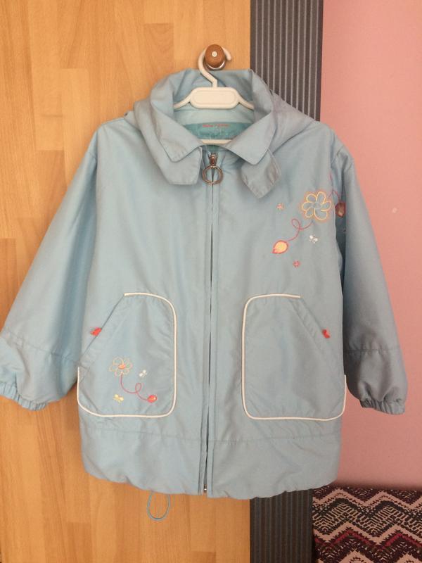 Куртка ветровка bob der bar 110-116 см.
